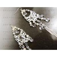 Wholesale Fashion Crystal Pendant Earrings Design for Women from china suppliers
