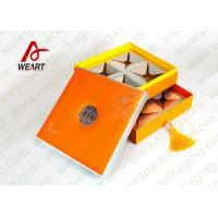 Wholesale Two Layered Individual Recycled Paper Gift Box With Magnets UV Varnish Suface from china suppliers