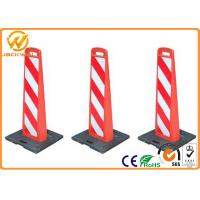 Wholesale Reflective Plastic Traffic Delineator Post Warning Sign Board for Road Safety from china suppliers