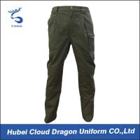 Wholesale Army Green Casual Security Uniform Pants / Male BDU Tactial Duty Pants For All Season from china suppliers