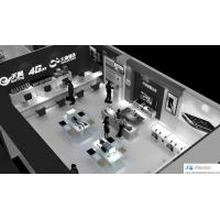 Wholesale Mobile phone sales exhibition hall interior design by display counter and glass showcase from china suppliers