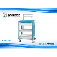 Quality Infusion ABS Hospital Emergency Trolley , First Aid Trolley For Medical Furniture for sale