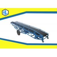 Wholesale Warehouses / Bulk Cargo Sites Loading Conveyor Belts , Stainless Steel Rubber Belt Conveyor from china suppliers