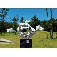 Wholesale Outdoor Abstract Stainless Steel Sculpture And Statues Garden Ornaments from china suppliers