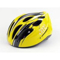 Wholesale Visor Professional Bicycle Helmet Yellow / Womens Road Bike Helmets S390 from china suppliers