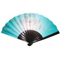 Wholesale Japanese Unique Style Printed Paper Hand Held Fans Foldable For Premium , Souvenir from china suppliers