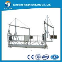Wholesale zlp800 hot galvanzied suspended working platform / suspended cradle / gondola working platform from china suppliers