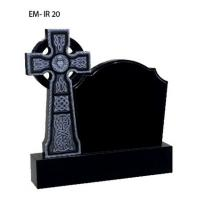 Quality Iceland style tombstone,  cross mounment for sale