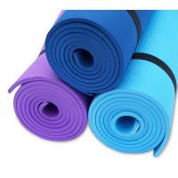 Wholesale Outdoor Fitness Padded PVC Yoga Mat Exericse Gym Mat , Biodegradable / Recyclable from china suppliers