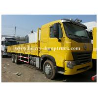 Wholesale Transportation 6x4 Cargo Howo Cargo Truck 290hp paylaod 13 tons ISO / CCC from china suppliers