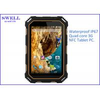 Wholesale IP68 HD LCD Screen rugged Outdoor Tablet PC NFC Single SIM card 13.0MP from china suppliers
