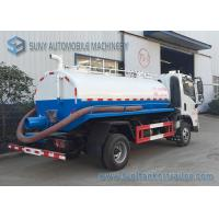 Wholesale FAC 4*2 2m3 Water Tanker Truck Sewage Suction Tanker Truck With Vacuum Pump from china suppliers