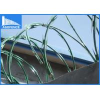 Wholesale Professional Airport Razor Barbed Wire Mesh For Grass Boundary , CE Listed from china suppliers