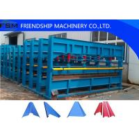 Wholesale Hydraulic Plate Bending Roll Forming Machine for Factory / Warehouse / Garage from china suppliers