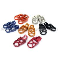 Wholesale Aluminum Alloy Oversize Dirt Bike Foot pegs Footpegs KTM SX SXF 125 250 350 450 2016 from china suppliers