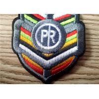 Wholesale Durable Colorful Embroidered Patches Of Brand Logo For Garment from china suppliers