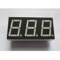 Wholesale 0.56 Inch  numeric led display Technical Data Sheet Pure Green 3 digit 7 segment led display from china suppliers