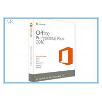 Wholesale Original Key Microsoft Office 2016 Professional Plus Software Retailbox With USB from china suppliers