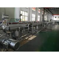 Wholesale Siemens Beide Motor PE / PVC Pipe Extrusion Line With MAX. 350KG Capacity from china suppliers