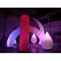 Wholesale Advertising Inflatable Arch Balloon Led Lighting For Festival Decoration from china suppliers