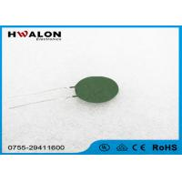 Wholesale Clubfoot Type Ntc Thermistors For Inrush Current Limiting , Green Color from china suppliers
