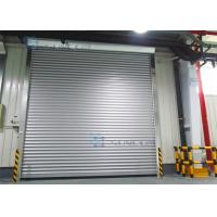 Wholesale Roll Up Absolutely Encoder Workshop Security Doors Wind Load Max 30m / s from china suppliers