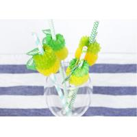 Quality CE Certified Degradable Colored Paper Straws Environmental Protection for sale