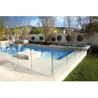 Wholesale Polished Edges Low E Glass Pool Safety Fence With ASTM Standard from china suppliers