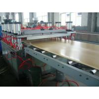Wholesale Ecological WPC Extrusion Machine , Wood Plastic Composite Production Line from china suppliers
