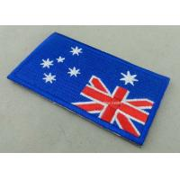 Wholesale Heat Cut Custom Embroidered Badges , Professional Garment Accessories Custom Clothing Patches from china suppliers