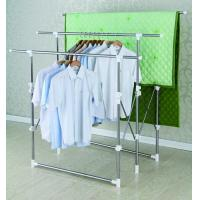 Wholesale Retractable Free Standing Clothes Drying Rack Space-saving for Quilt from china suppliers