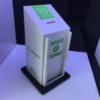 Wholesale 2016 Factory Handmade Manufacturing Acrylic Donation Money Box from china suppliers