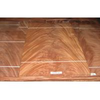 Wholesale Dard Red Crown Cut Veneer Mohagany Crotch , Natural Wood Veneer from china suppliers