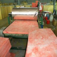 Wholesale Pink colour Glass wool blanket heat insulation building materials/fiberglass wool from china suppliers