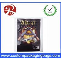 Wholesale Plastic Zip Lock Custom Packaging Bags With Tear Tabs , Bizarro Spice Smoke Incense Bag from china suppliers