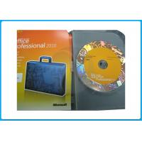 Wholesale 32bit 64bit DVD Microsoft Office 2010 Professional Retail Box office 2010 pro plus office 2013 activation guarantee from china suppliers