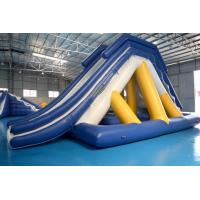 Wholesale Floating Inflatable Water Slide With Big Stainless Steel Anchor Ring from china suppliers
