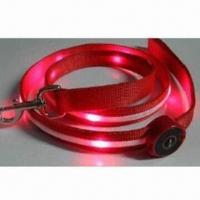 Wholesale LED Flashing Pet Lead, Various Colors and Sizes Available from china suppliers