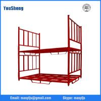 Wholesale High strength and Durable Warehouse Metal Stacking Rack from china suppliers
