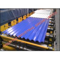 Buy cheap High Strength Corrugated Steel Roof Panel Roll Forming Machine from wholesalers
