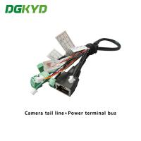 Wholesale Surveillance Cameras Ethernet Cable Camera Tail Line With Power Terminal Bus from china suppliers