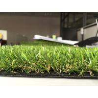 Wholesale Home Synthetic Artificial Grass For Roof Terrace , Green Fake Grass Lawns from china suppliers
