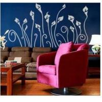 Wholesale Large Decorative Custom Funky Wall Flower Stickers LY-005, /Wall Sticker Art /Design Wall Sticker /Decorative Wall Stickers from china suppliers