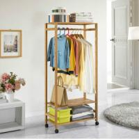 Wholesale China Bamboo Coat Rack Clothing Rack Storage for Living Room, Dining Room, Bedding Room, from china suppliers