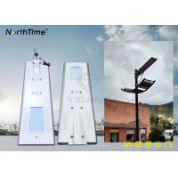 Wholesale PIR Motion Sensor Smart LED Street Lights Solar Power with High Brightness Bridgelux LED Chips from china suppliers