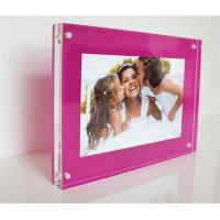 Wholesale Clear custom magnetic acrylic photo frames from china suppliers