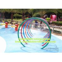 Wholesale Popular Galvanized 1.8m Water Park Equipment Water Rings Environmental Protection from china suppliers