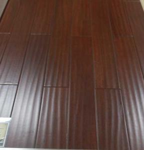 Wholesale Cumaru hardwood flooring, brazilian teak solid wooden floors, handscraped surface from china suppliers
