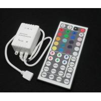 Wholesale Common Cathode Infrared Ray RGB LED Controller for Flexible Light Strip IR 24Keys 12A 5VDC from china suppliers