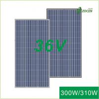 Wholesale 300Wp  / 305Wp / 310Wp Big Mono Solar Panels ISO9001 Certified White EVA from china suppliers